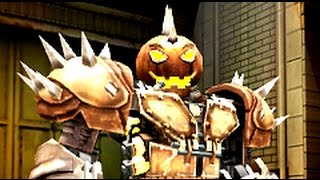 Real Steel WRB The Holloween Horror - Hollowjack VS World Robot Boxing II (Живая Сталь)