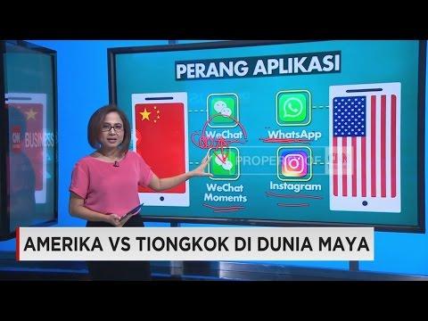 Amerika VS Tiongkok di Dunia Maya