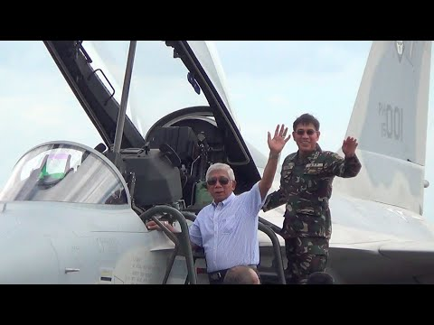 watch Philippine Air Force welcomes 2 new fighter jets