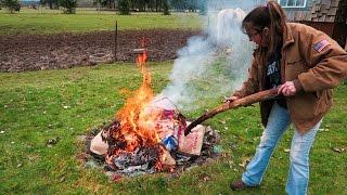 FIRE STARTER!! + Drones & Kids!    TheSmoaks Vlog_077