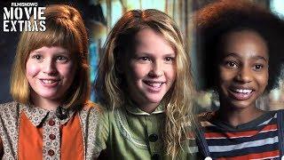 Annabelle: Creation | On-set visit with Lulu Wilson, Talitha Bateman & Tayler Buck
