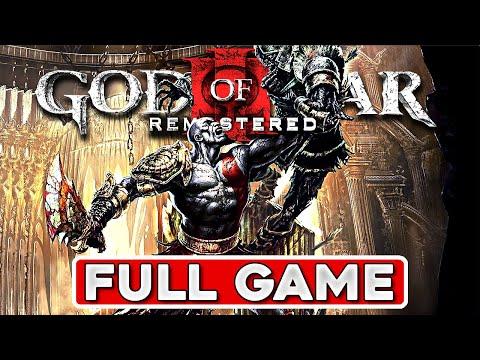 God Of War 3 Remastered Walkthrough - Complete Game Movie 60fps