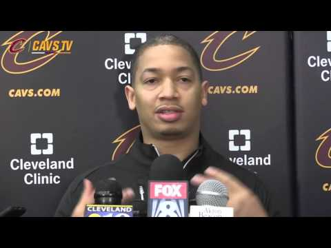 Tyronn Lue - first interview as head coach of the Cleveland Cavaliers