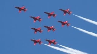 The Red Arrows at Old Warden 8th May 2016