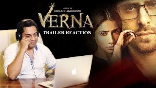 Verna | Official Trailer | Reaction | 17 November | Mahira khan | A film by Shoaib Mansoor