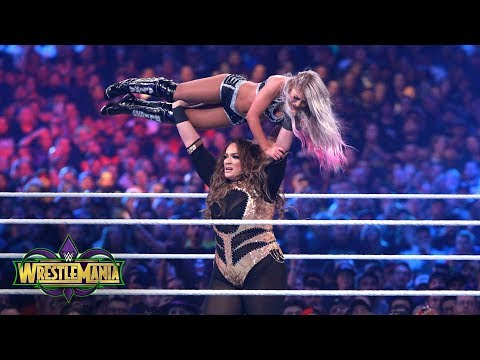 Xxx Mp4 Nia Jax Tosses Alexa Bliss Around The Ring Like A Rag Doll WrestleMania 34 WWE Network Exclusive 3gp Sex