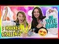 3 MARKER TOTE BAG CHALLENGE | We Are The Davises