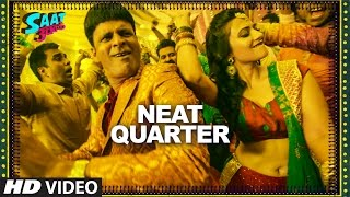 NEAT QUARTER  Video Song || Saat Uchakkey || Manoj Bajpayee, Anupam Kher & Aditi Sharma  | T-Series