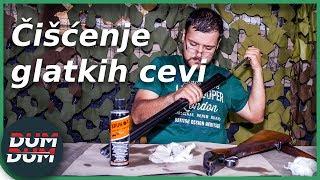 Čišćenje dugih cevi: Puške sa glatkim cevima (lovačke puške)