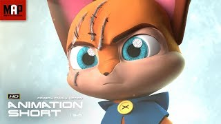 "CGI 3D Animated Short Film ""PLUSH ASSASSIN"" Cute Action Animation by Anca Miha & Ringling College"