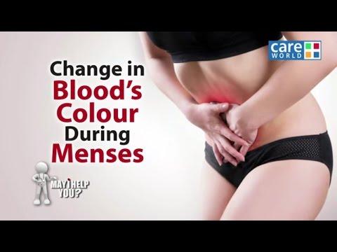 Change of Blood Colour During Menses - Dr. Charmi Thakker Deshmukh - May I Help You?