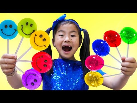 Xxx Mp4 Rainbow Fruit Lollipops Color Song Jannie Pretend Play Learn Colors Nursery Rhymes Amp Kids Songs 3gp Sex