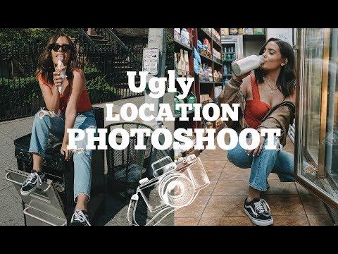 UGLY LOCATION PHOTOSHOOT CHALLENGE NYC Style