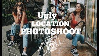 UGLY LOCATION PHOTOSHOOT CHALLENGE | NYC Style