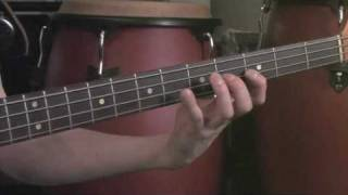 Bass Blues Scale