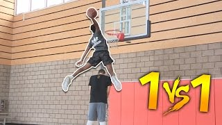 1 V 1 VS HIGHSCHOOL #1 PG ALL AMERICAN  JAYLEN HANDS!