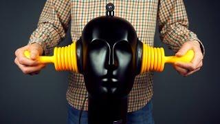 ASMR Cozy ear cupping (binaural recording)
