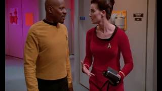 Kirk and Spock   Star Trek: Deep Space Nine - Trials and Tribble-ations