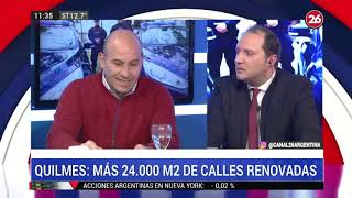 Canal 26 - Entrevista A Martiniano Molina