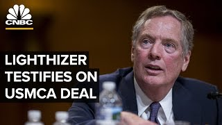 Robert Lighthizer testifies on US-Mexico-Canada trade agreement – 06/18/2019