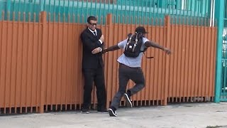 Sniper Prank GONE WRONG! - Funny Hood Pranks in Public