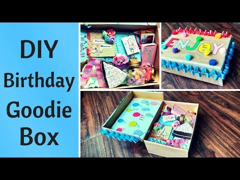 Xxx Mp4 DIY Birthday Gift Goodie Box Care Package For HimHer 3gp Sex