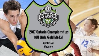 18U Girls - Gold 2017 Ontario Championships
