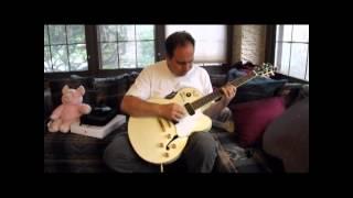 Michael McDonald and Bernie Chiaravalle Signed Yamaha Guitar, White Fang