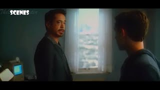 Spiderman meets Tony Stark (Iron Man) - Civil War