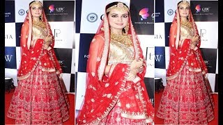 Dia Mirza In Bridal Wear Walks The Ramp For PC Jeweller