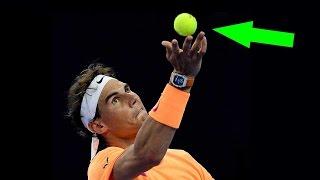 """هل تعلم لماذا لون كرة المضرب """"التنس"""" أصفر؟"""