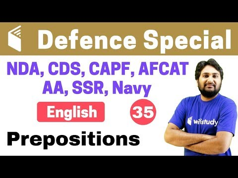Xxx Mp4 7 00 PM NDA CDS CAPF AFCAT 2018 English By Harsh Sir Prepositions 3gp Sex