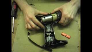 Battery drill teardown for gearbox