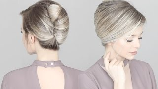 HOW TO: French Twist Hair Tutorial
