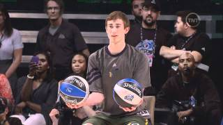 Jeremy Evans 2012 NBA Slam Dunk Champion Full Highlights