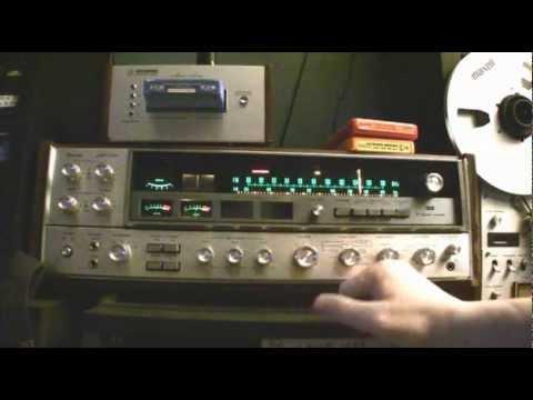 Sansui QRX-5500 Quad Receiver - Four Channel
