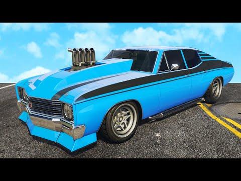 NIEUWE BESTE MUSCLE CAR in GTA 5? (GTA 5 DLC)