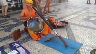 Ananda Krishna Röösli em Lisboa (Hangmusic)