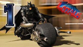 BATMAN STOP MOTION Action Video Part 1