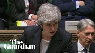 May says rejecting new Brexit deal risks more 'division and deadlock'