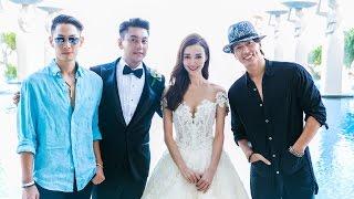 Celebrity Ken Chu of F4 Meteor Garden and Actress Wife Han Wen Wen Tied Their Knot at Mulia Bali