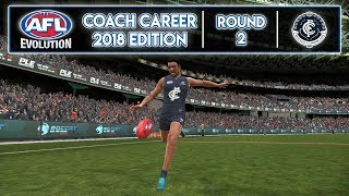 BLOCK OUT THE SUNS - AFL Evolution Coach Career 2018 Edition (Round 2)