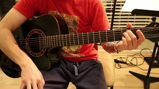 How to Play - So Far Away (Bridge/Interlude Acoustic) by Avenged Sevenfold - Guitar Tutorial