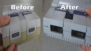 How to Restore a Yellow Super Nintendo the Easy Way