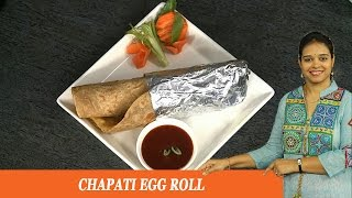 CHAPATI EGG ROLL - Mrs Vahchef
