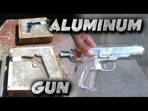 Xxx Mp4 Casting A 9mm Toy Gun Into Solid Aluminum Not Lost Foam 3gp Sex