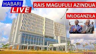 LIVE: Rais Magufuli Akizindua Chuo Kikuu cha Muhimbili Mloganzila