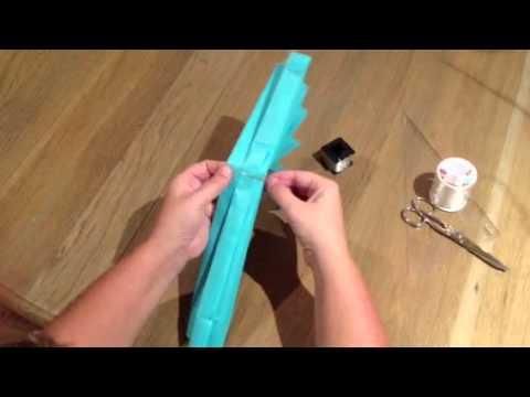 Como hacer pompones de papel 3