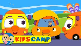Wheels On The Bus | Nursery Rhymes | 100 Minutes Compilation from Kidscamp