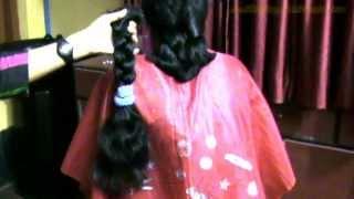 arati thick braid cut